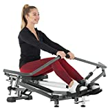 Murtisol Full Range Rowing Machine Folding Rower with 12 Levels Hydraulic Resistance,10 Levels Looseness and 3 Levels Slope Adjustment,3.5 inches LCD Display,30 min to Assemble