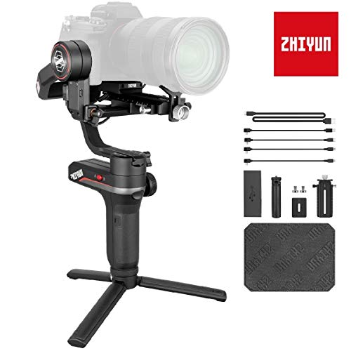 Zhiyun Weebill S Gimbal Reflex, Stabilizzatore Gimbal 3 Assi Compatibile per Fotocamera Canon, Sony, Nikon e Panasonic