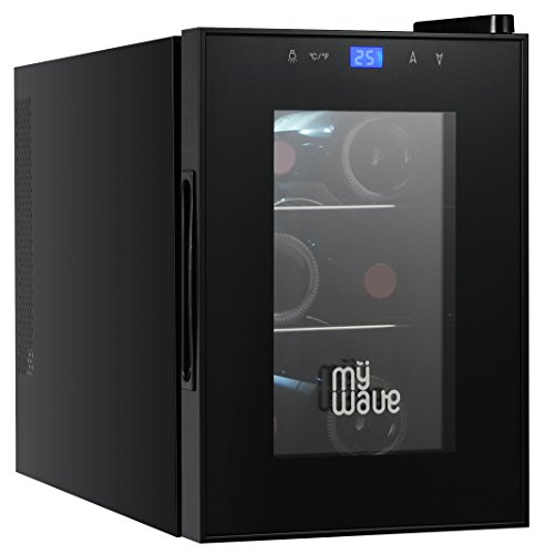 MyWave MWWT 6B- Cantinetta per 6 bottiglie verticali, capacit di 20 litri, raffreddamento...