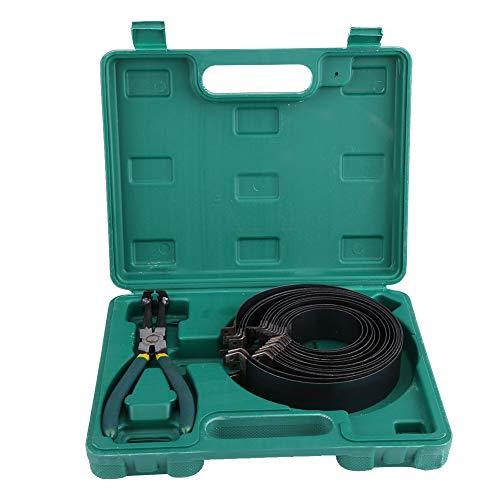Esenlong Kit di Strumenti di Riparazione Set di Pinze per Compressori per Fasce Elastiche Del Motore per Auto con Scatola (Verde)