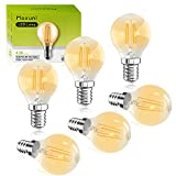 Ampoule bougie LED E14 blanc chaude, Maxuni C35/B35 avec culot à vis, 4W...