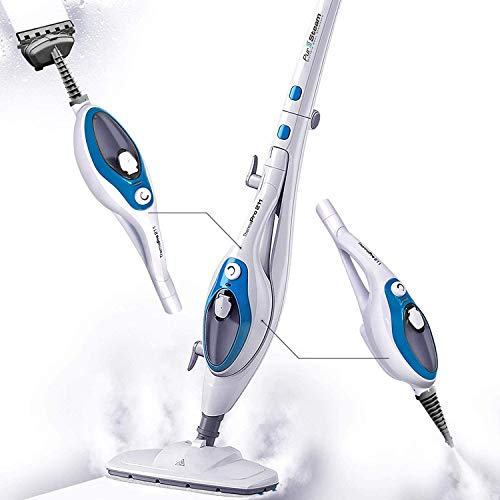 Steam Mop Cleaner 10-in-1 with Convenient Detachable Handheld Unit,...