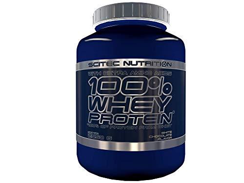 Scitec Nutrition 100% Whey Protein protéine chocolat blanc 2350 g