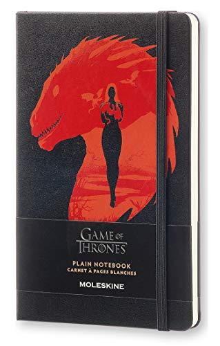 Moleskine LEGTQP062 - Cuaderno diseño Juego de Tronos, liso, edición limitada, L 13 x 21