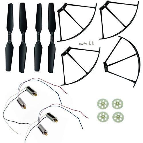 Accessori giocattolo. Pezzi di ricambio Motore dell'ingranaggio della protezione della protezione della lama dell'elica / Adatto per SJR / C Z5 SJRC Z5 RC Quadcopter Drone Accessori SJ R / C Z5 Quadco