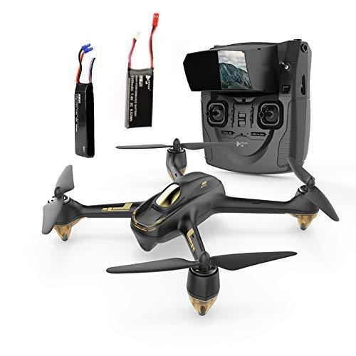Hubsan H501S X4 Brushless FPV Drone GPS avec Caméra 1080P HD 5.8Ghz Mode sans Tête Une-clé Retour Maintien d'Altitude Follow Me (H501S Noir)