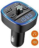 Cocoda Transmetteur FM Bluetooth, Kit Bluetooth Voiture sans Fil Adaptateur...