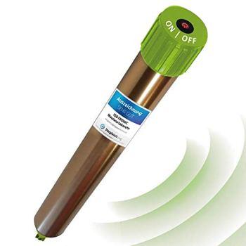 ISOTRONIC® Taupe Deterrer, dissuasif efficace contre les taupes, les souris, les fourmis, rats, et le serpent - Répulsif à haute fréquence pour l'extérieur