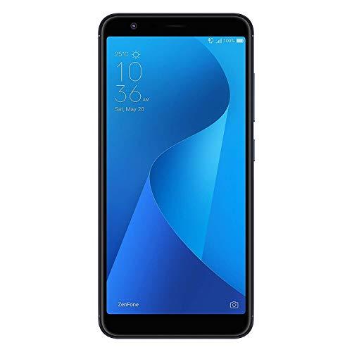 """ASUS ZenFone Max M1 (ZB555KL-S425-2G16G-BK) - 5.5"""" HD+ 2GB RAM 16GB Storage LTE Unlocked Dual SIM Cell Phone - US Warranty - Deepsea Black"""