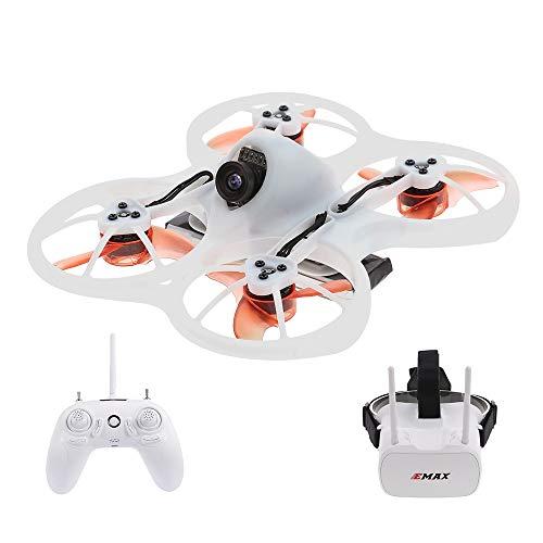 Goolsky EMAX Tinyhawk Brushless 600TVL Fotocamera RC Racing Drone con FPV Goggles Transmitter Shoulder Bag RTF