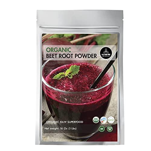 Organic Beet Root Powder (1 lb) by Naturevibe...