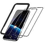 【2枚入り】iPhone11 iPhone XR 強化ガラスフィルム 高感度なタッチ感/99%高透過率/硬度9H/気……