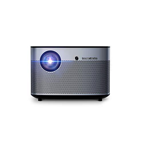 XGIMI H2, 1080P Intelligenter Beamer, Unterstützt 4K 1350ANSI lm WiFi Bluetooth/Harman /Kardon Speakers, Autofokus, Android 6.1 Videoprojektor, Außenprojektor 30,000 Hours LED Lamp Life