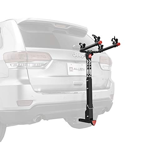 Allen Sports Deluxe Locking Quick Release 2-Bike Carrier for 2' & 1 4 in. Hitch, Model 522QR