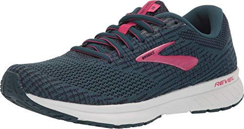 Brooks Women's Revel 3 Running Shoe, Blue Navy Beetroot, 8 UK
