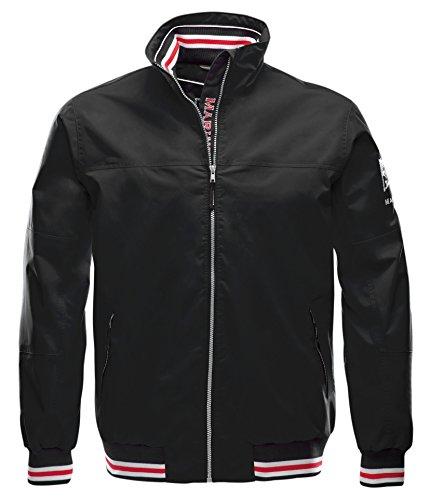 Marinepool Herren Segeljacke Heist Storm Jacket Black, L