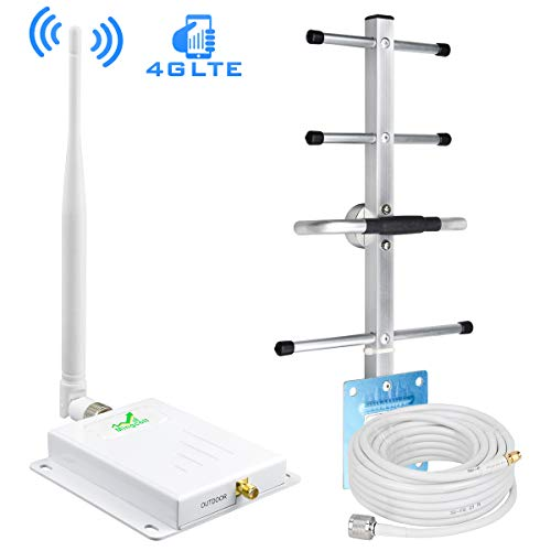 Verizon Cell Phone Signal Booster 4G LTE 700MHz Band 13 Mobile Signal Booster Amplifier Verizon Cell Phone Booster Extender for Home and Office - Boost 4G Data Signal/Stop Dropped Calls