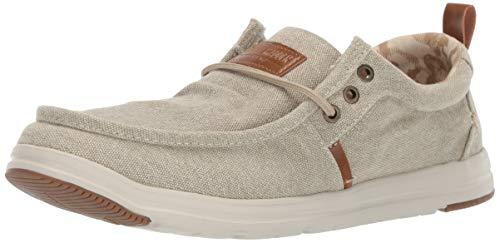 Steve Madden Men's Harbour Sneaker, Stone, 11.5 M US