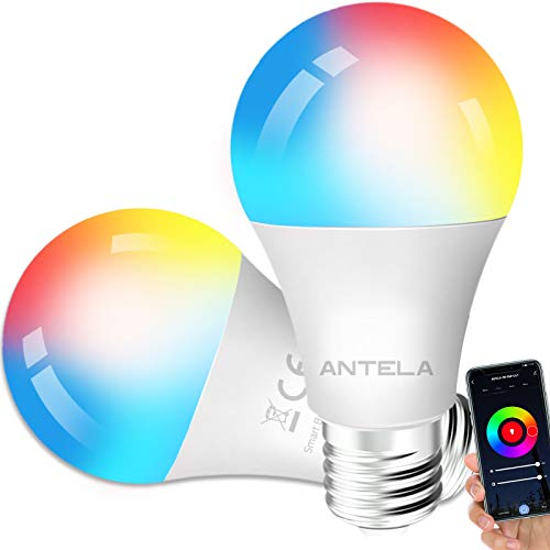Bombilla LED Inteligente WiFi Regulable 9W 806 Lm Lámpara E27,...