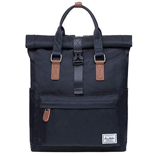 KAUKKO 12' Zaino Porta Pc Donna Universita, 13.11 Litri(47 nero)
