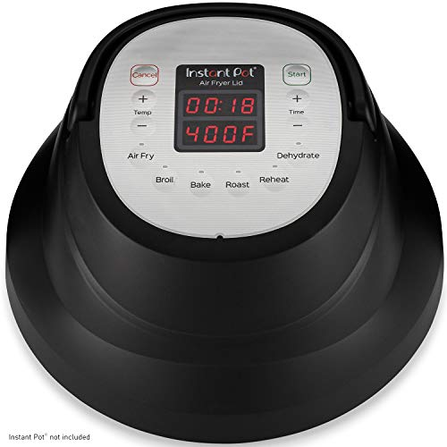 Instant Pot Air Fryer Lid 6 in 1, No Pressure Cooking Functionality, 6 Qt, 1500 W