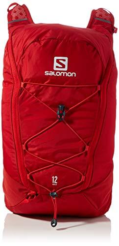 Salomon, 12L Laufrucksack, Inkl. 2 Soft Flasks mit 500 ml, AGILE 12 SET, rot (Goji Berry), LC1305200