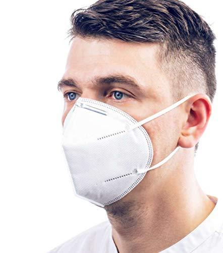 20 unidades – 4 niveles de protección eficaces contra partículas, polvo, niebla y...