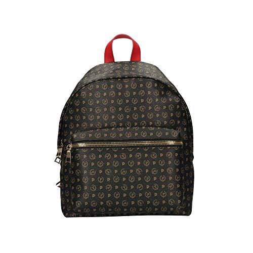 Pollini Heritage Tapiro backpack red