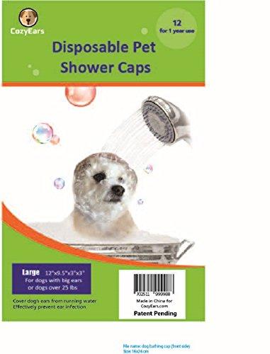Disposable Pet Shower Caps, Ear Infection...
