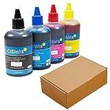 CISinks Refill Ink Bottle Set – 13.5oz/400ml for Brother LC203 MFC J4320DW J4420DW J4620DW J5520DW J5620DW J5720DW J460DW J480DW J485DW J680DW J880DW J885DW J4625DW J5320DW