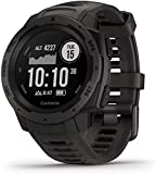 Garmin 010-02064-00 Instinct, Rugged Outdoor Watch with GPS, Features GLONASS and Galileo, Heart...