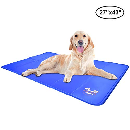 Arf Pets Pet Dog Self Cooling Mat Pad for Kennels,...