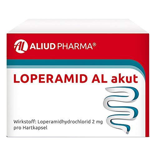 Loperamid AL akut Kapseln gegen akuten Durchfall, 10 St. Kapseln