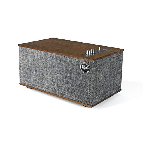 Klipsch The Three II Table Top Stereo Speaker (Walnut)