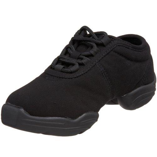 Capezio Little Kid/Big Kid DS03 Canvas Dance Sneaker,Black,1.5 M US Little Kid