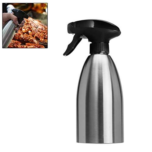 Ysoom - Spruzzatore per Olio in Acciaio Inox, 500 ml, con Imbuto e Spazzola di Pulizia, Facile da Pulire e da riempire per BBQ, Cucinare, Grigliare, Pasta, Insalata