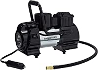 12-volt portable tyre inflator for adding air to tyres; plugs into cigarette lighter port For tyres with a 120 PSI rating; 30L/M CFM free flow at 0 PSI 10-foot power cord reaches all tyres comfortably Long 27.5-inch air hose easily reaches all tyres ...