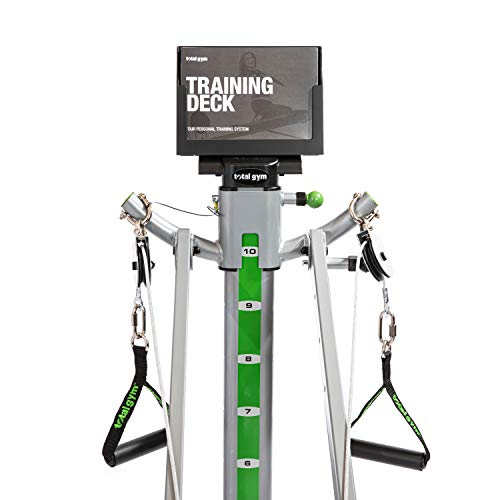 Total Gym APEX G5 Versatile Indoor Home Workout Total Body Strength Training Fitness Equipment with 10 Levels of Resistance and Attachments 9