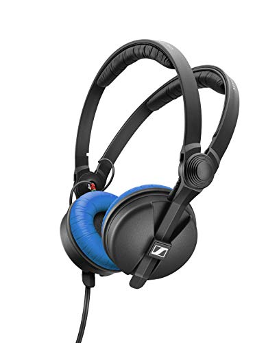 Sennheiser HD 25 Blue Limited Edition - Cuffie con retro chiuso