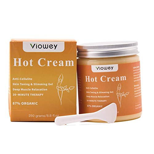 Hot Massage Cream, Cellulite Hot Cream, Body Slimming Firming Fat Burner for Tightening Skin Weight Loss Body Shaper, 8.8 Ounce 1