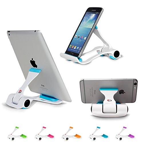 SIME-ON: Phone and Tablet Stand, Desk Holder Compatible with...