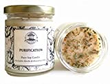 Art of the Root Purification 8 oz Soy Herbal Candle for Negativity, Unwanted Energies, Purifies, Cleanses & Banishes