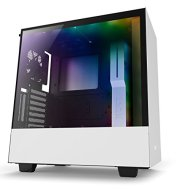 NZXT H500i - Compact ATX Mid-Tower PC Gaming Case - RGB Lighting and Fan Control - CAM-Powered Smart Device - Enhanced Cable Management System – Water-Cooling Ready - Black - 2018 Model