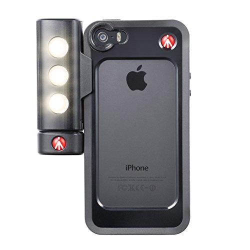 Manfrotto KLYP+ iPhone5/5S用バンパー+LED/三脚アタッチメントセット MKLKLYP5S