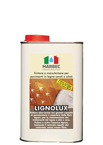 Marbec - LIGNOLUX 1LT | Finitore manutentore per Pavimenti in Legno oliati o cerati