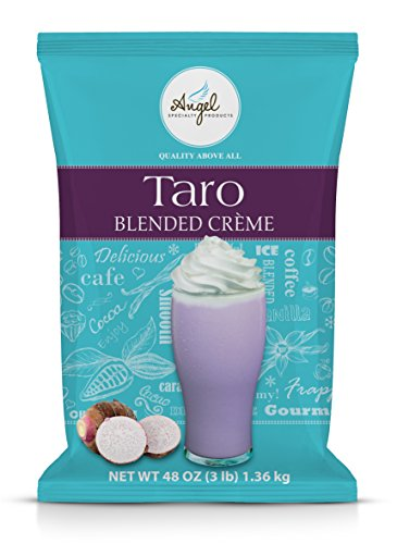 Taro Blended Crme Mix by Angel Specialty Products [3 LB]