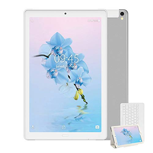Tablet 10 Pollici con Wifi Offerte Tablet PC 4G LTE Dual SIM /WiFi tablet Android 8.0 con 3GB di RAM...