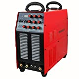 HeroCut AC/DC TIG200P Pulse Aluminum Welder Single phase 220v Inverter TIG Welding Machine with Stick/MMA Arc Welder, Square Wave Pulse With Foot-Pedal function (TIG200PACDC)
