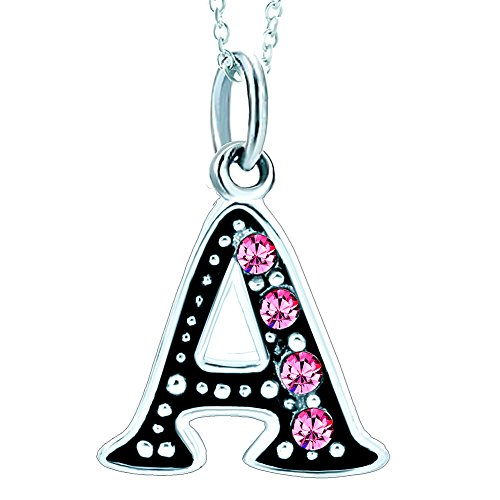 Alphabet Initial Charms Bead Necklace