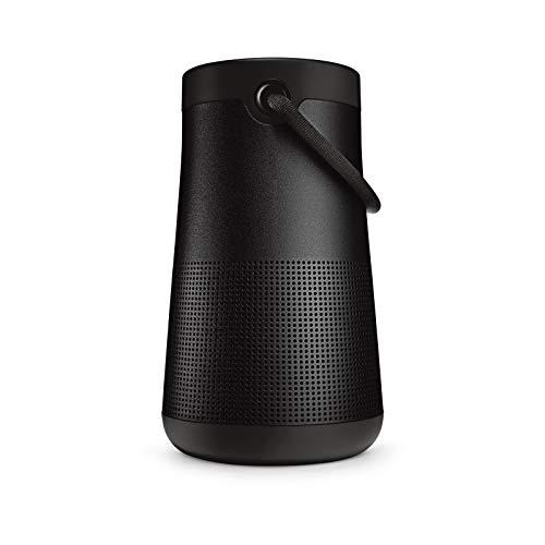 Bose Enceinte Bluetooth portable SoundLink Revolve+(Séries II): Enceinte sans fil résistante à l'eau dotée d'une batterie longue durée, Noir